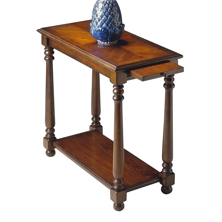 Shop Butler Specialty Cherry End Table At Lowes Com