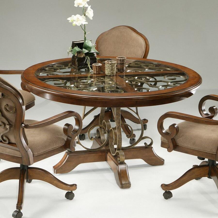 Impacterra Carmel Cosmo Sepia Round Dining Table