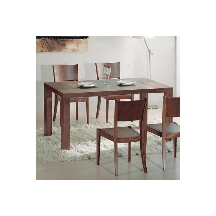 shop bh design stark black rectangular dining table at. Black Bedroom Furniture Sets. Home Design Ideas
