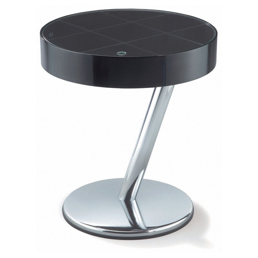 New Spec Enta Walnut Round End Table