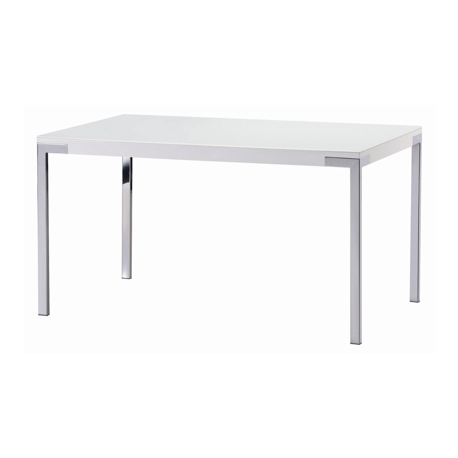 New Spec Cafe Tempered Glass Dining Table