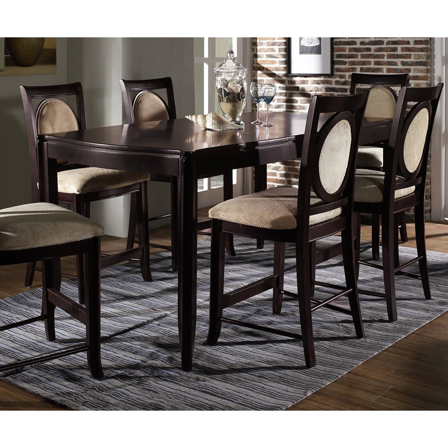Somerton Home Furnishings Shadow Ridge Dark Cherry Rectangular Dining Table