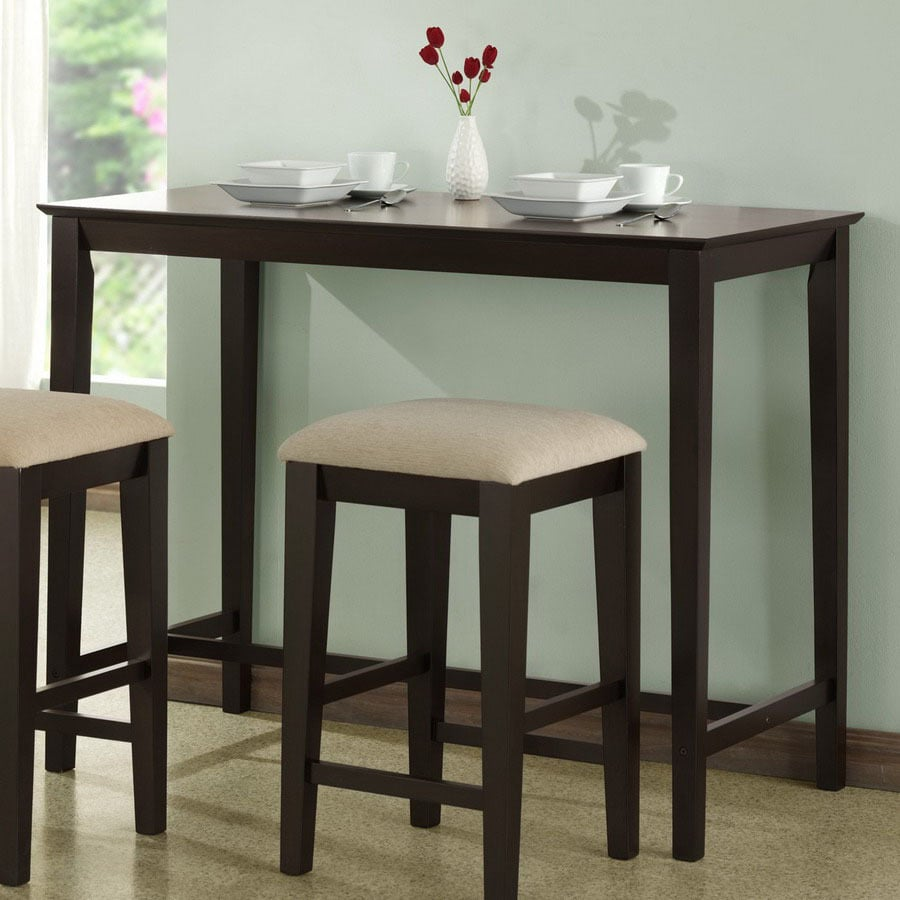 Counter Height Kitchen Tables Counter High Kitchen Table: Shop Monarch Specialties Cappuccino Rectangular Counter