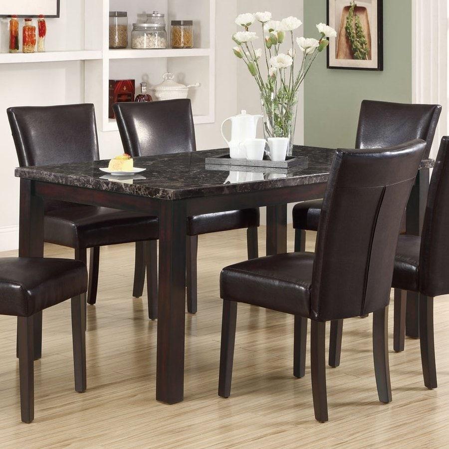 Monarch Specialties Dark Espresso Rectangular Dining Table