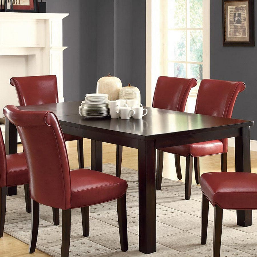 Monarch Specialties White Dining Set With Round Dining: Shop Monarch Specialties Dark Espresso Rectangular Dining