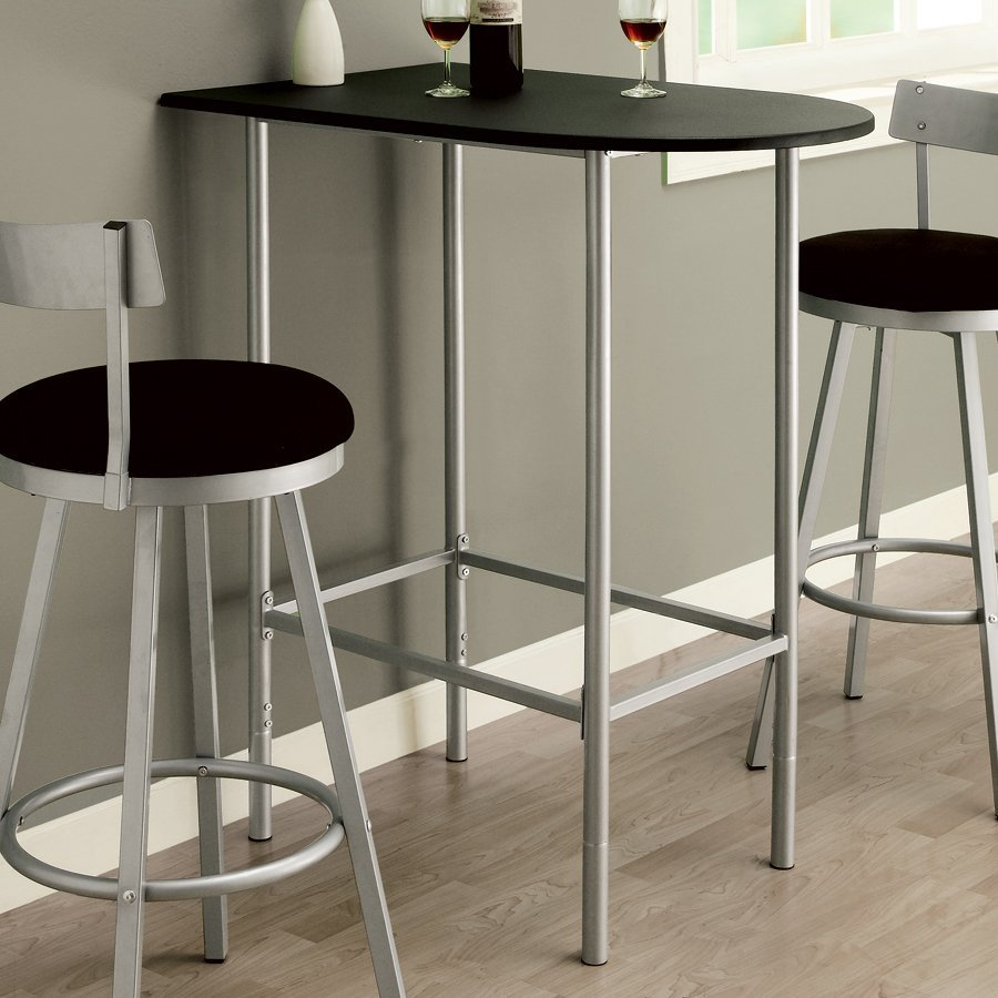 Shop Monarch Specialties Black Composite Bar Table At