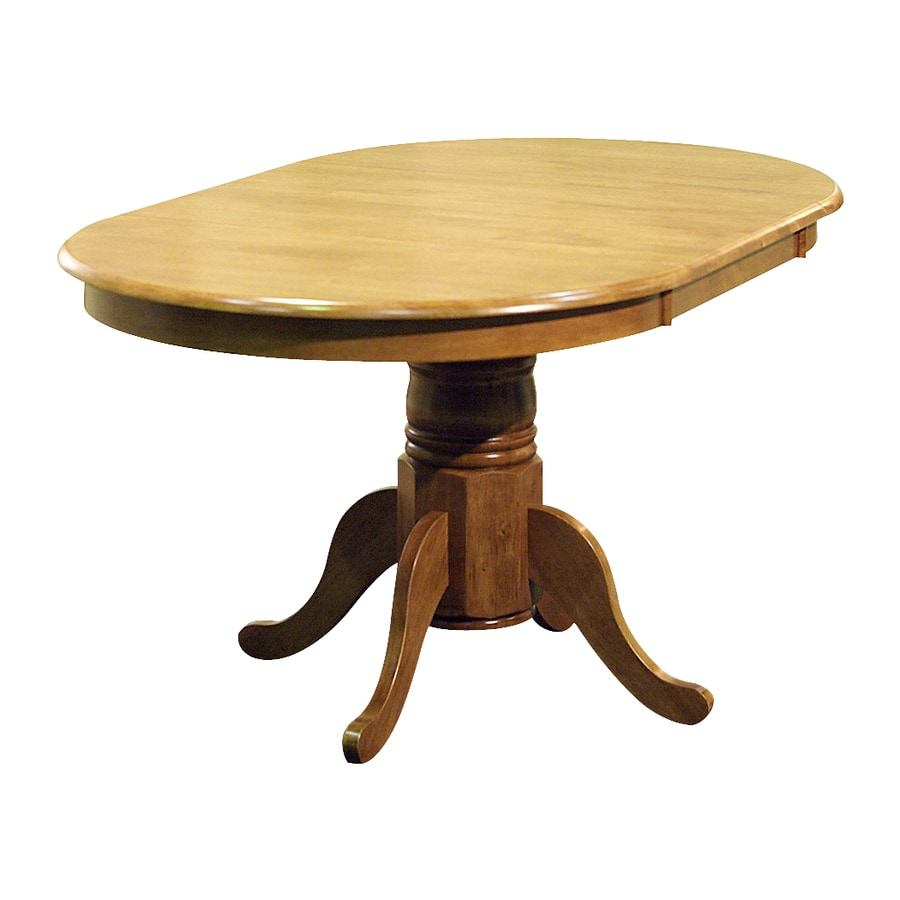 TMS Furniture Farmhouse Wood Extending Dining Table