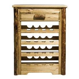 Elegant Wine Rack Cabinet Insert