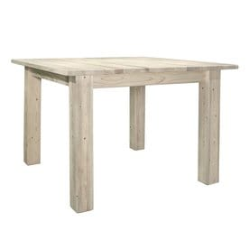 Montana Woodworks Homestead Natural Wood Dining Table