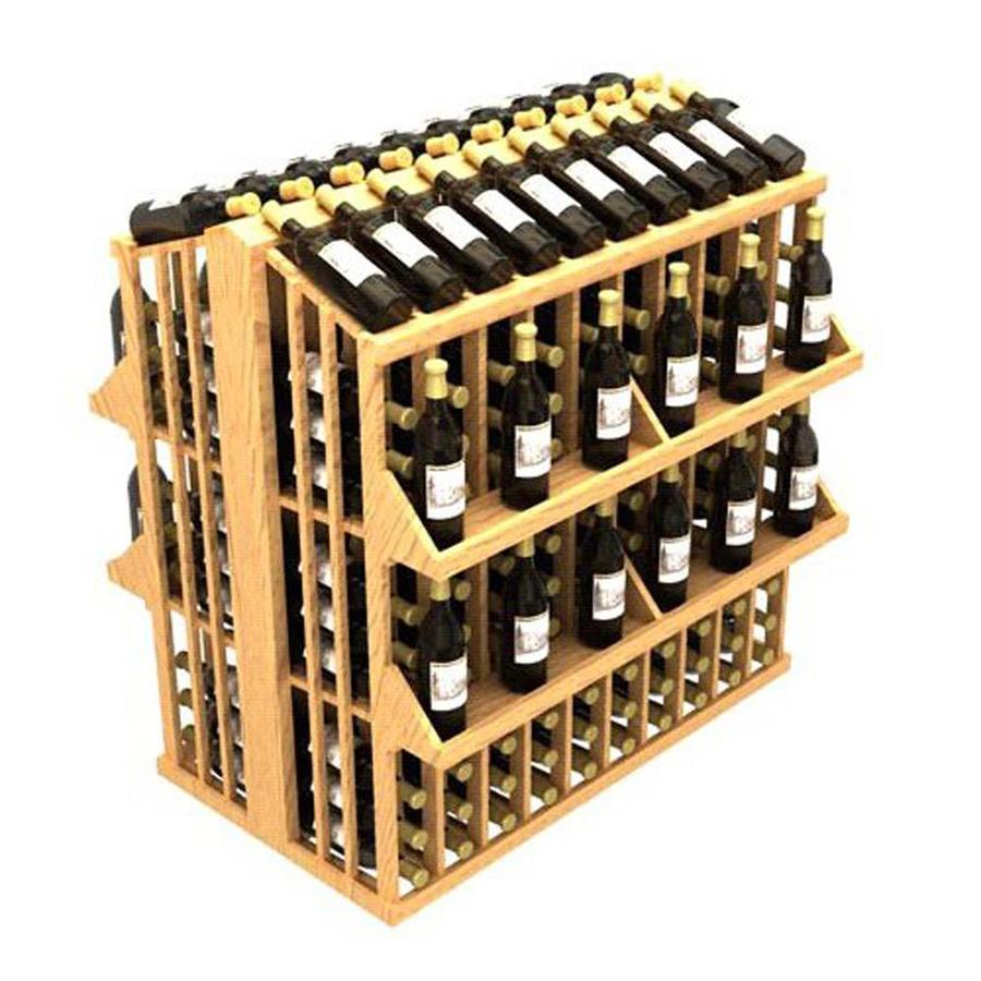 Ironwine Cellars Commercial 300-Bottle Pine Freestanding Floor Wine Rack