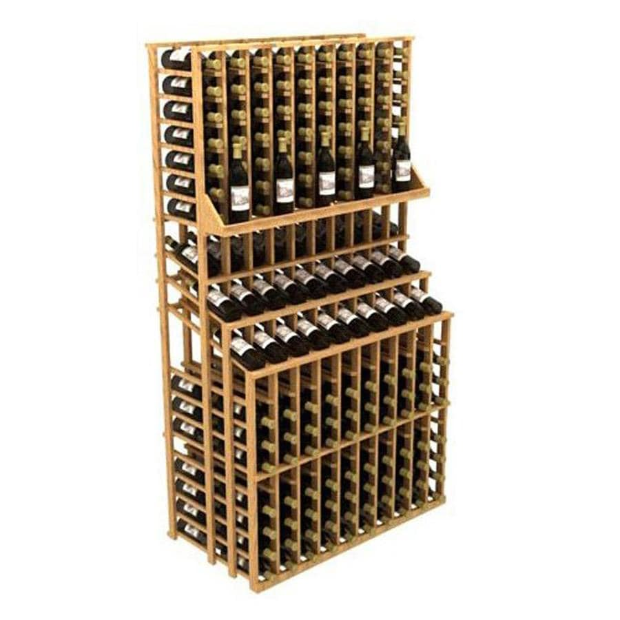 Ironwine Cellars Commercial 300-Bottle Pine Freestanding Floor Wine Rack