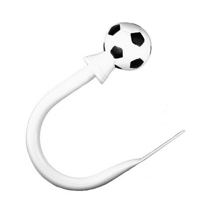 BCL Drapery 2 Pack Soccer Ball Curtain Holdbacks