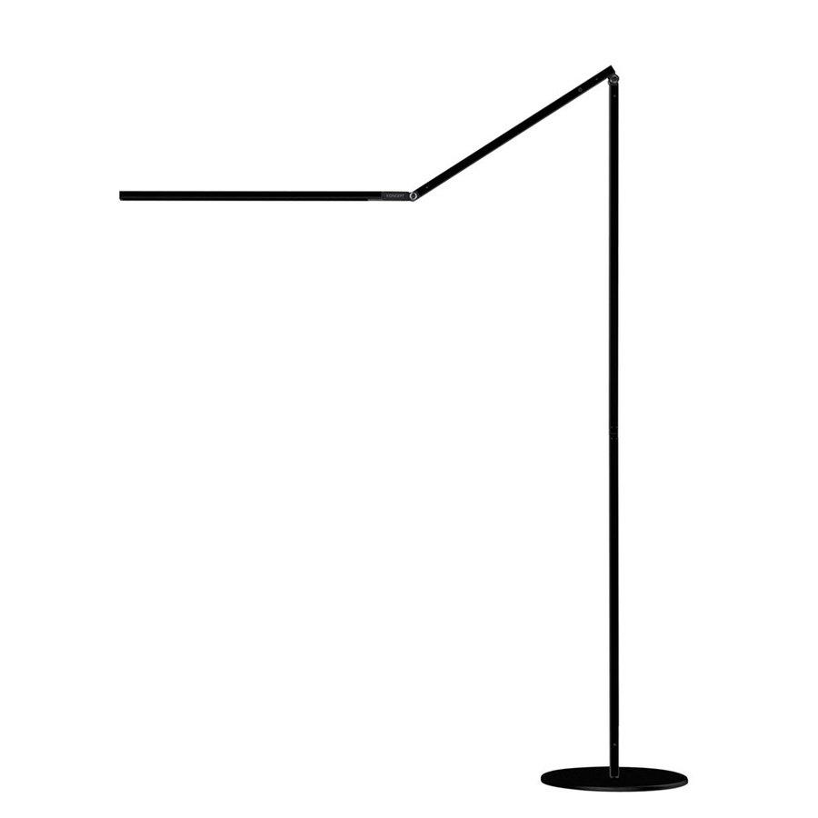 Koncept Tech LED Z Bar Floor 76.65 In Metallic Black LED Indoor Floor Lamp
