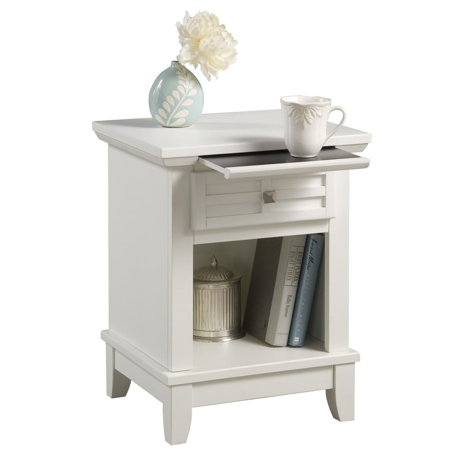 Home Styles Arts and Crafts White Nightstand