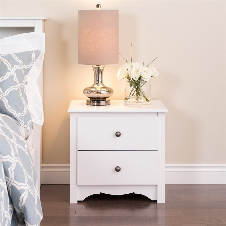 Prepac Furniture White Nightstand