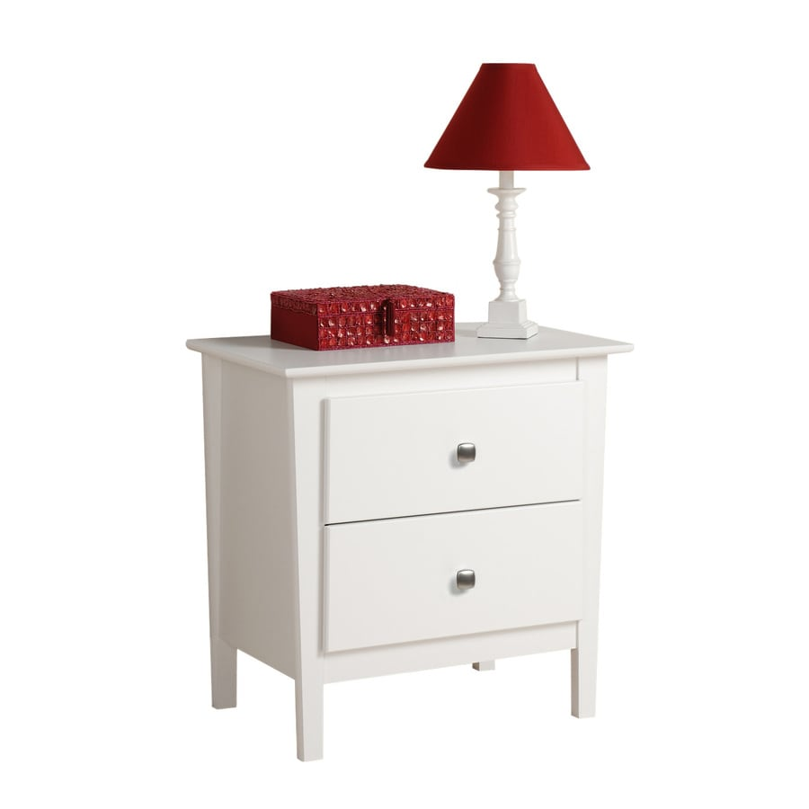 Prepac Furniture Berkshire White Nightstand