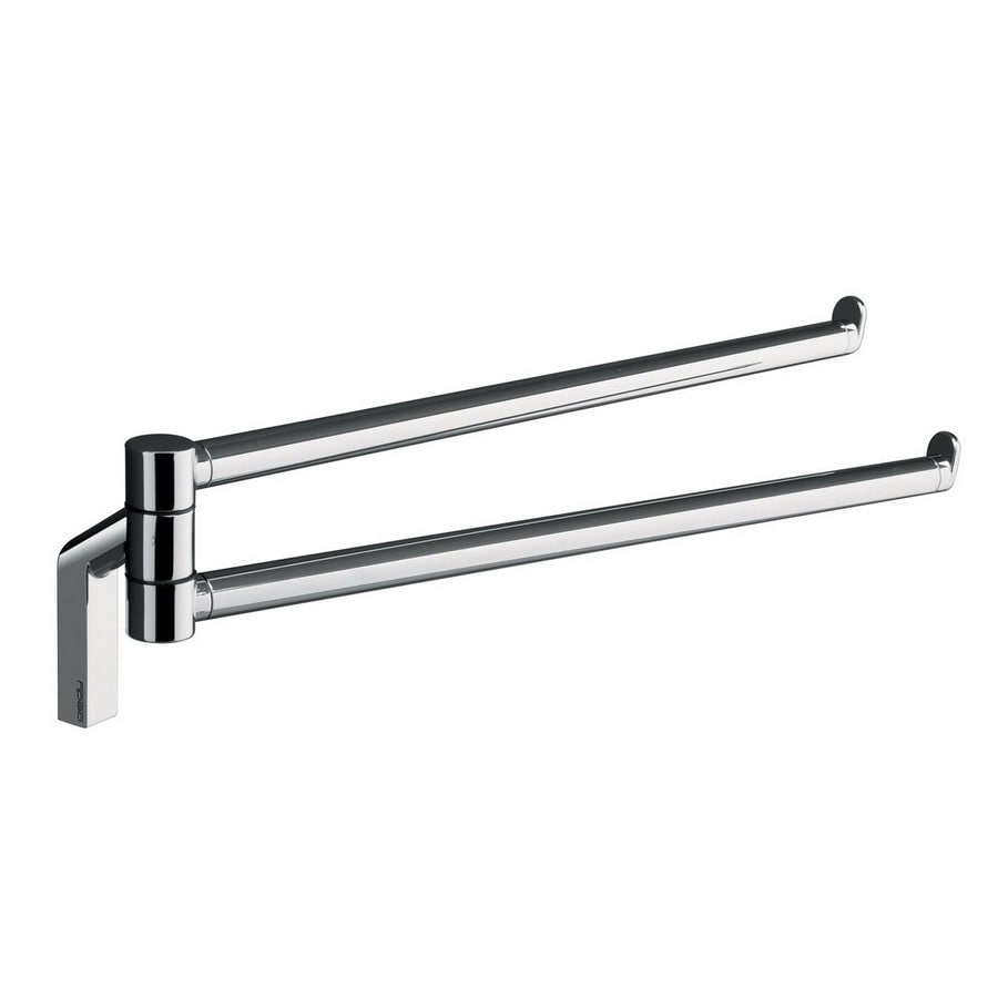 Nameeks Karma Chrome Double Towel Bar (Common: 12-in; Actual: 12.99-in)