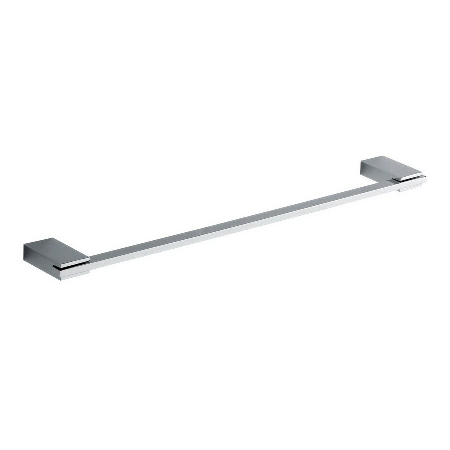 Nameeks Kansas Chrome Single Towel Bar (Common: 18-in; Actual: 17.72-in)