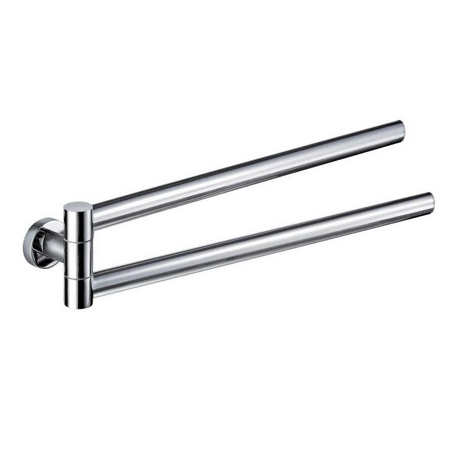 Nameeks Demetra Chrome Double Towel Bar (Common: 17-in; Actual: 17.13-in)
