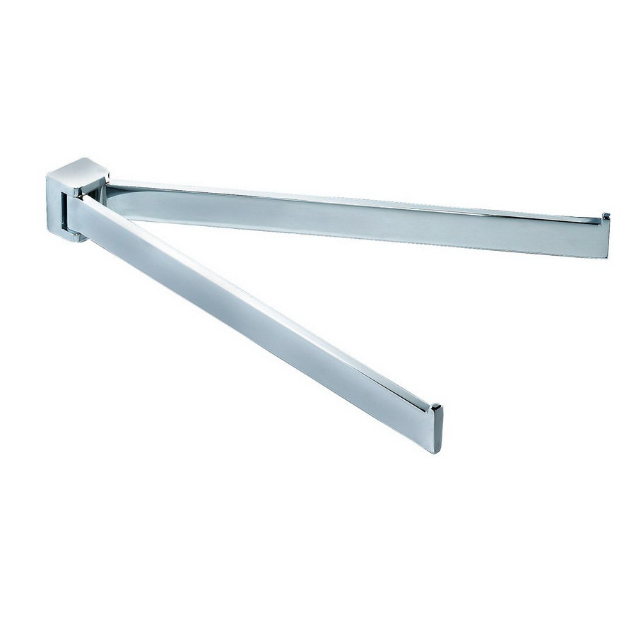 Nameeks Glamour Chrome Double Towel Bar (Common: 13-in; Actual: 13.19-in)