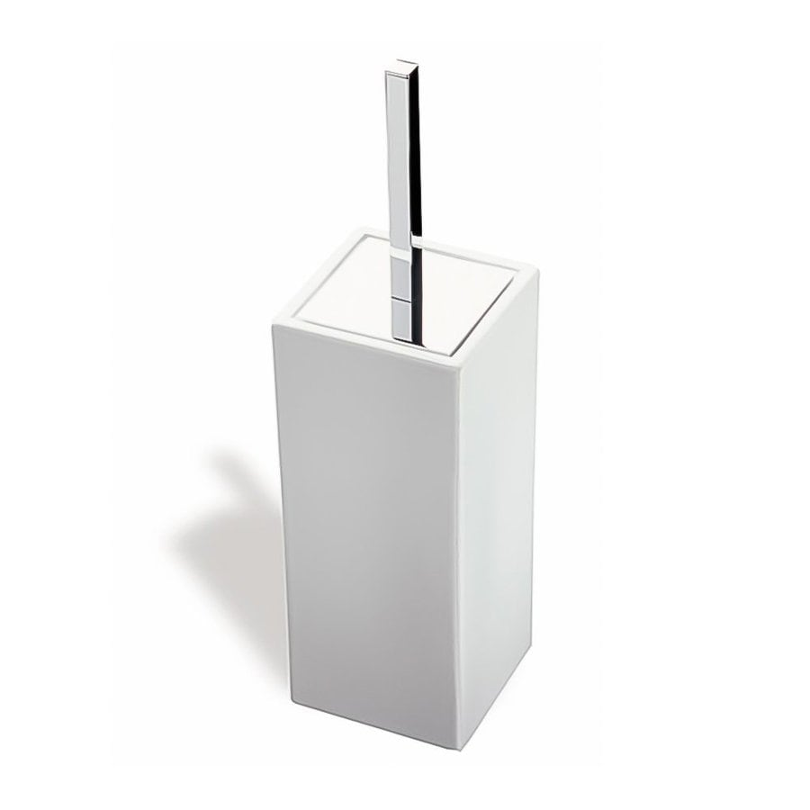 Nameeks Urania Chrome Ceramic Toilet Brush Holder