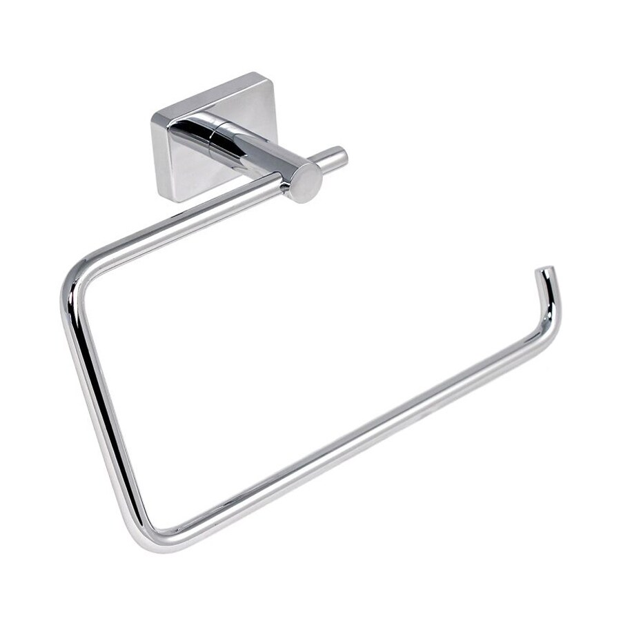 Nameeks Minnesota Chrome Wall Mount Towel Ring