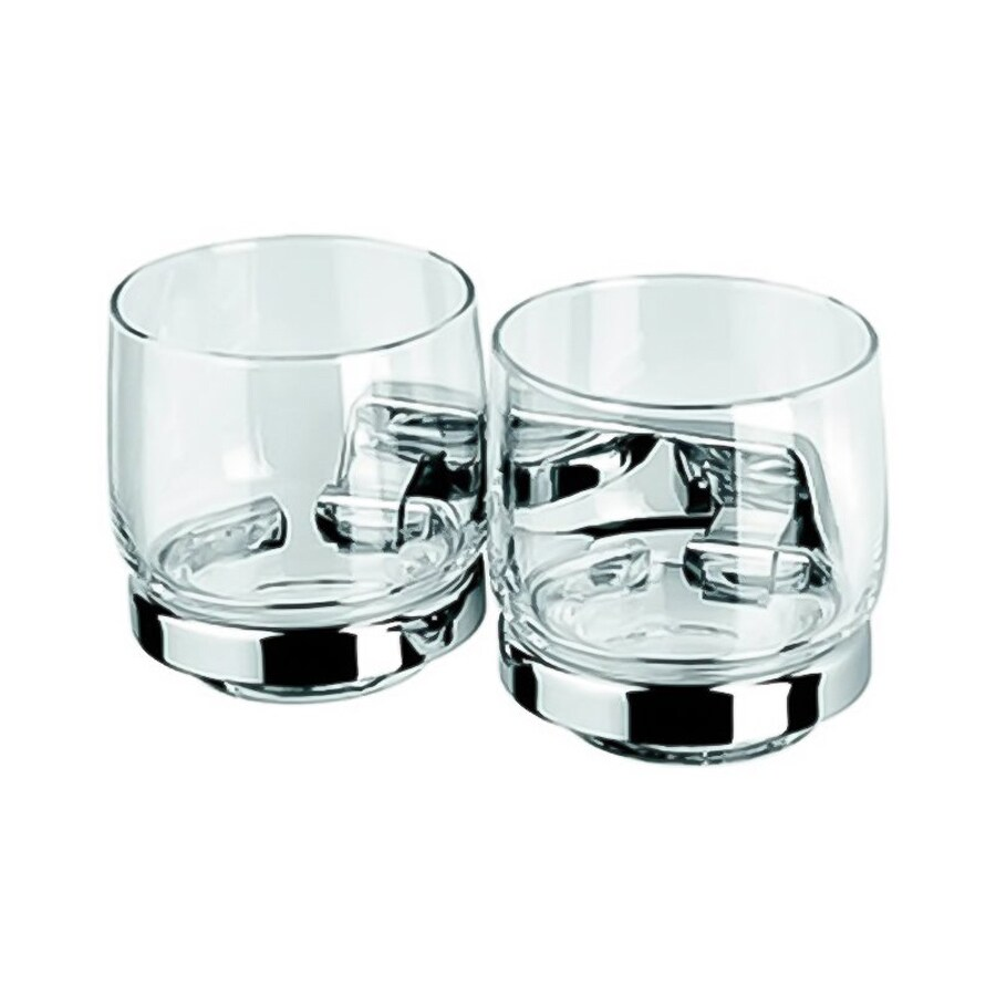 Nameeks Standard Hotel Chrome Brass Double Tumbler