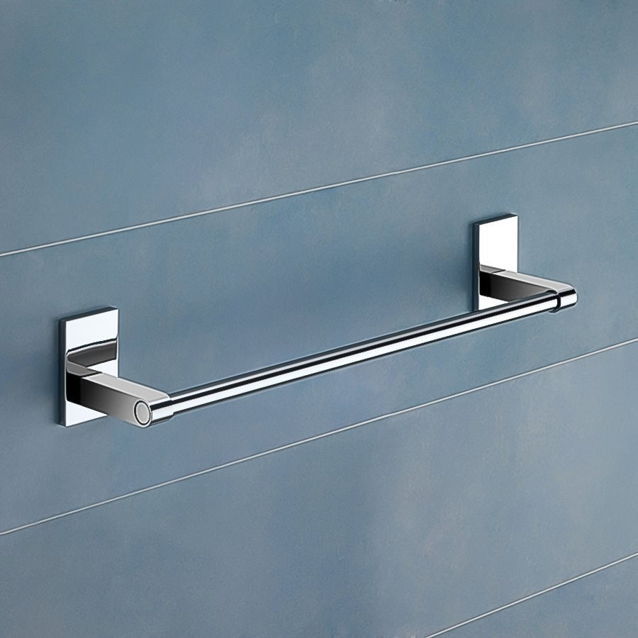 Nameeks Maine Chrome Single Towel Bar (Common: 15-in; Actual: 14.96-in)