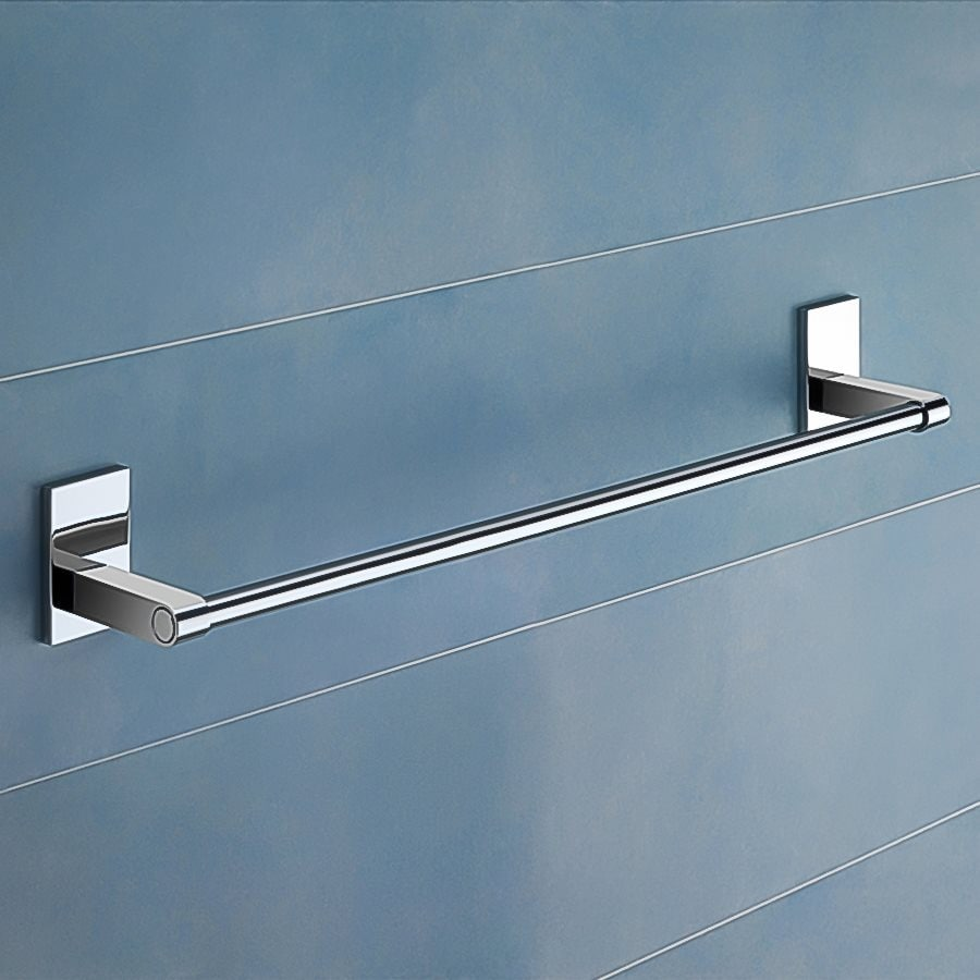 Nameeks Maine Chrome Single Towel Bar (Common: 25-in; Actual: 24.64-in)