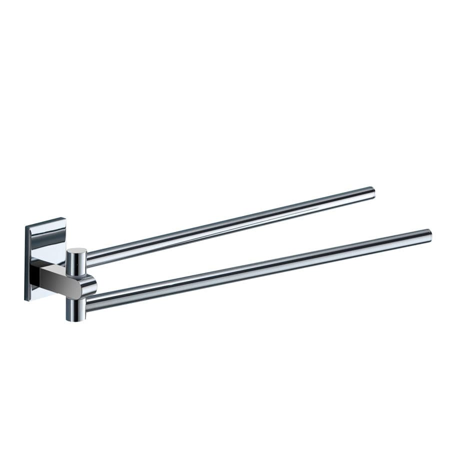 Nameeks Maine Chrome Double Towel Bar (Common: 14-in; Actual: 14.17-in)