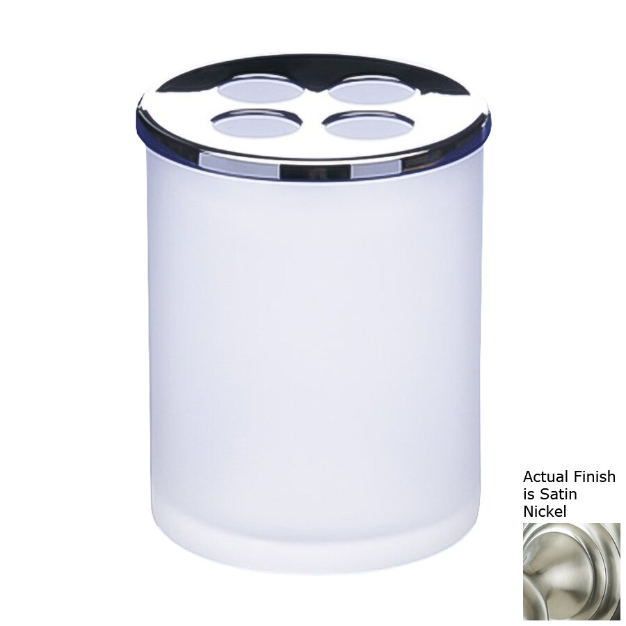 Nameeks Windisch Satin Nickel Brass Toothbrush Holder