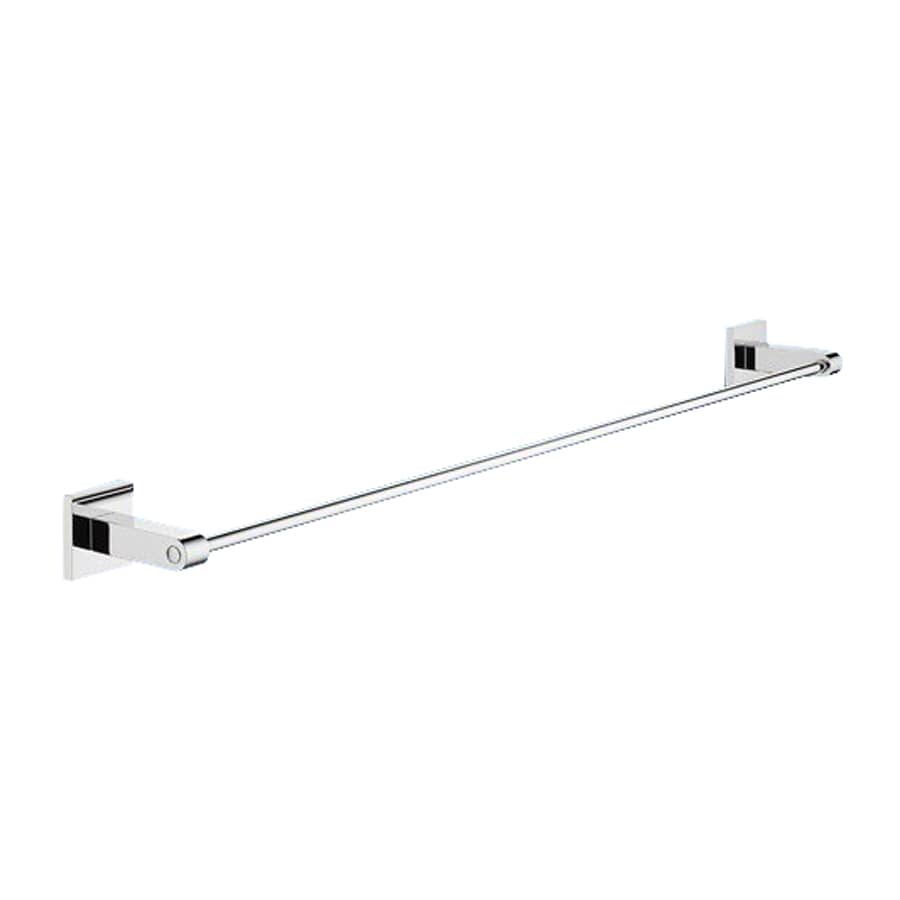 Nameeks New Jersey Chrome Single Towel Bar (Common: 25-in; Actual: 24.65-in)