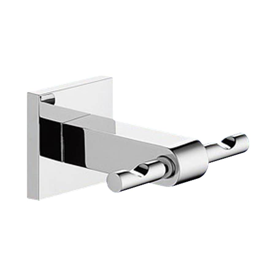 Nameeks New Jersey 2-Hook Chrome Towel Hook