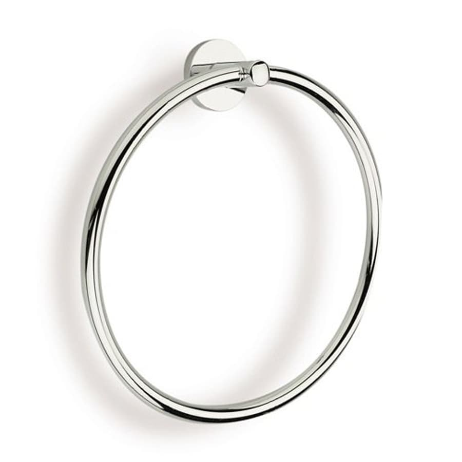 Nameeks Medea Chrome/Brushed Nickel Wall Mount Towel Ring