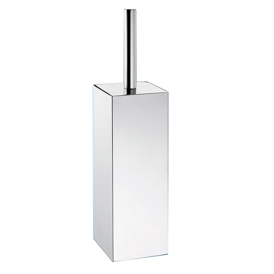 Nameeks Gedy Nemesia Chrome Stainless Steel Toilet Brush Holder
