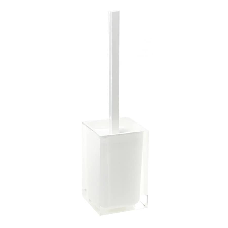 Nameeks Gedy Rainbow White Plastic Toilet Brush Holder