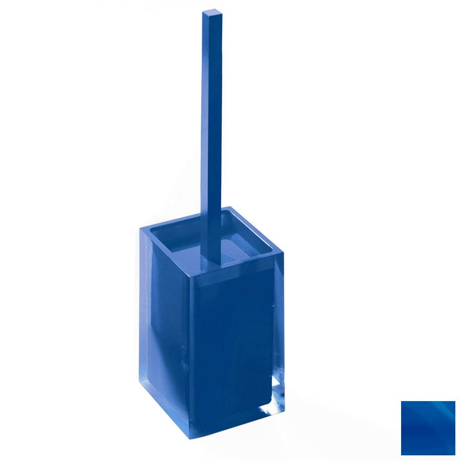 Nameeks Gedy Rainbow Blue Plastic Toilet Brush Holder