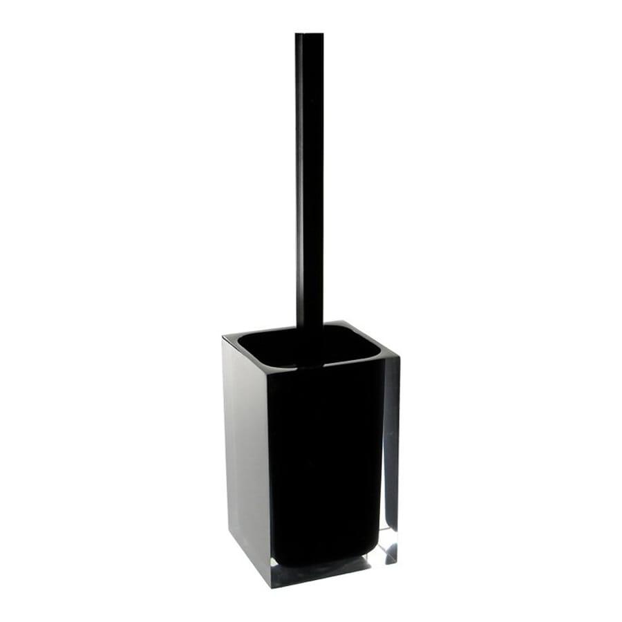 Nameeks Gedy Rainbow Black Plastic Toilet Brush Holder