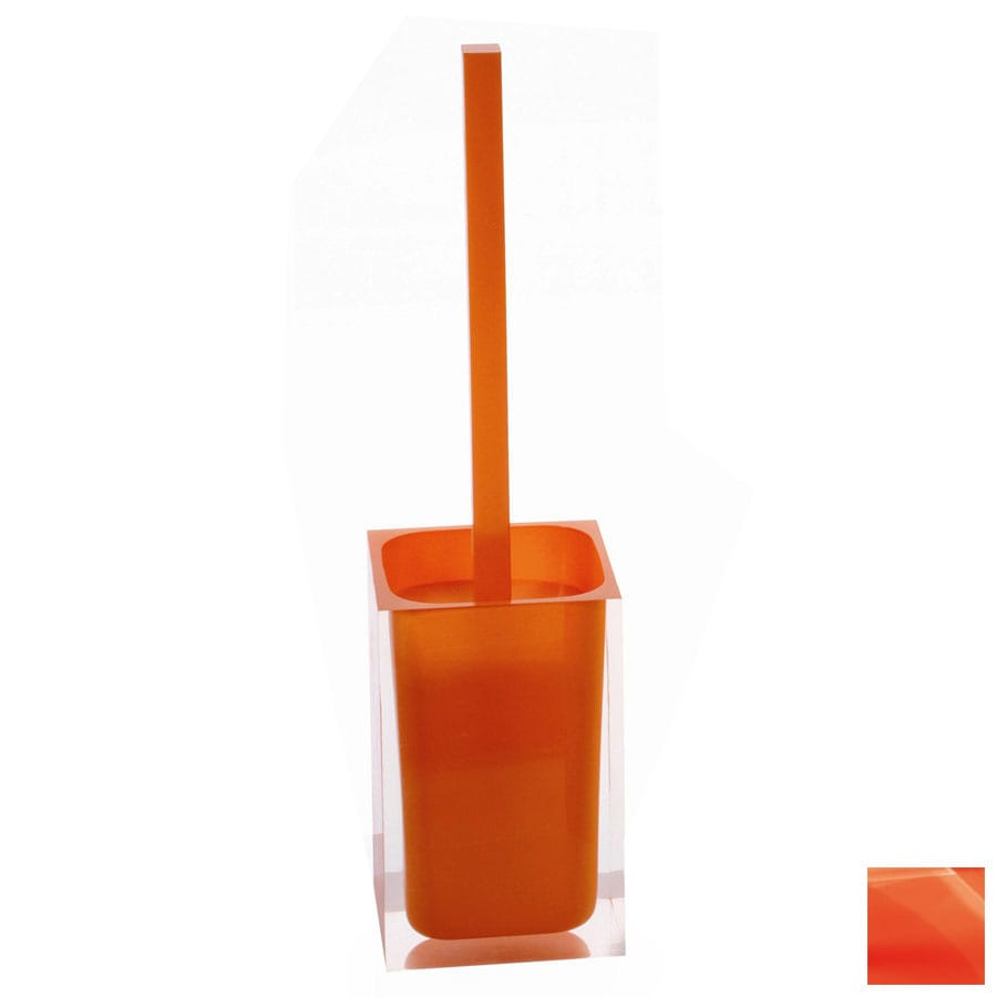 Nameeks Gedy Rainbow Orange Plastic Toilet Brush Holder