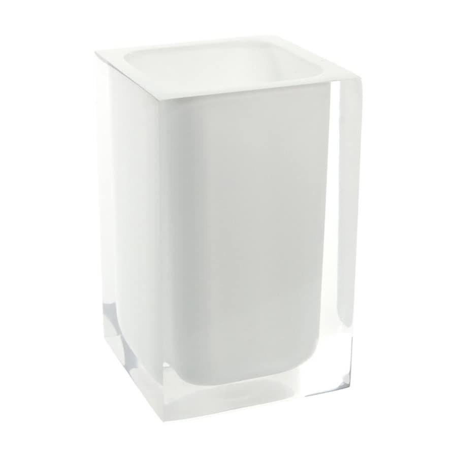 Nameeks Gedy Rainbow White Plastic Toothbrush Holder