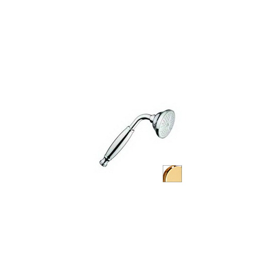 Nameeks Fima Carlo Frattini 1-GPM (3.8-LPM) Gold Handheld Showerhead