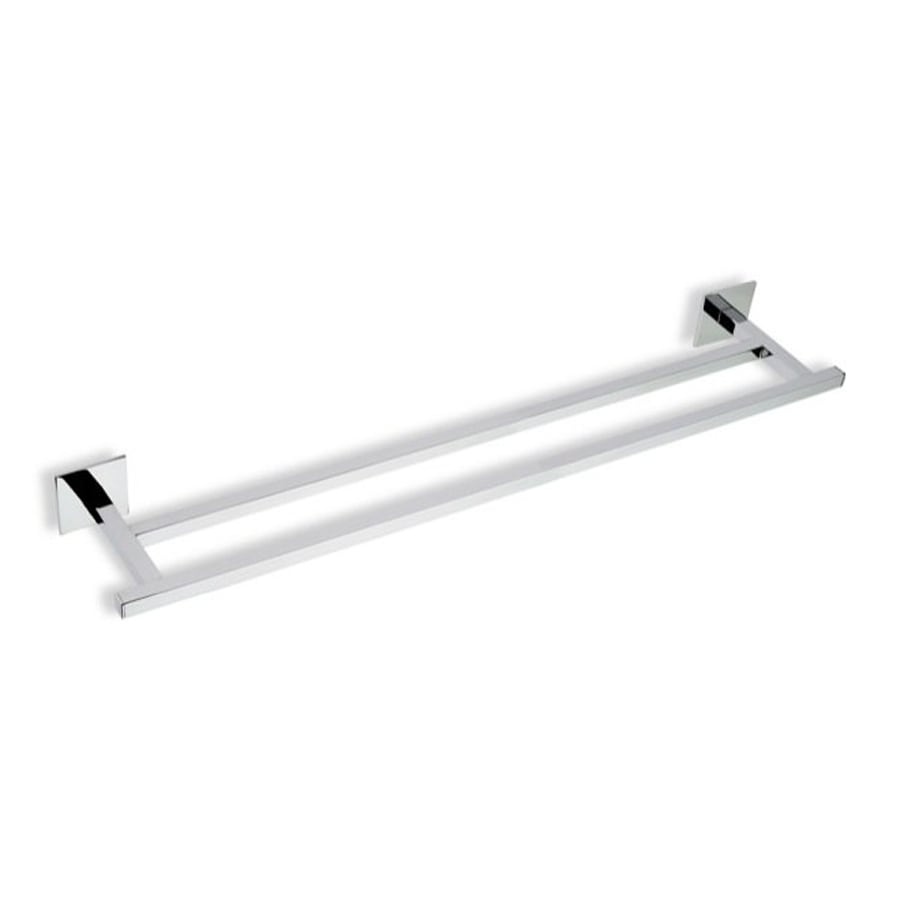 Nameeks Urania Chrome Double Towel Bar (Common: 24-in; Actual: 23.8-in)