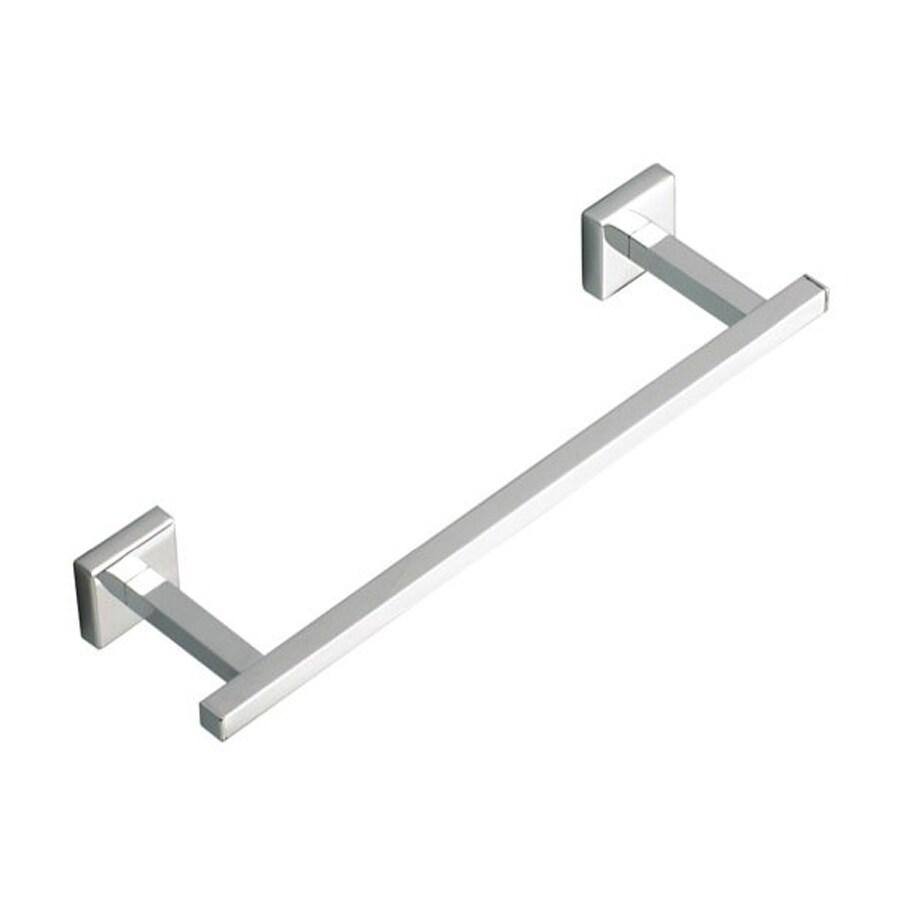 Nameeks Urania Chrome Single Towel Bar (Common: 12-in; Actual: 12-in)