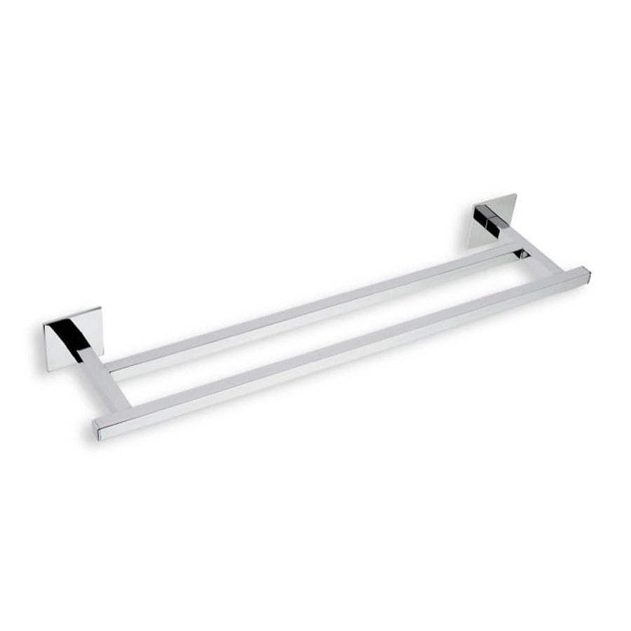 Nameeks Urania Chrome Double Towel Bar (Common: 12-in; Actual: 12-in)