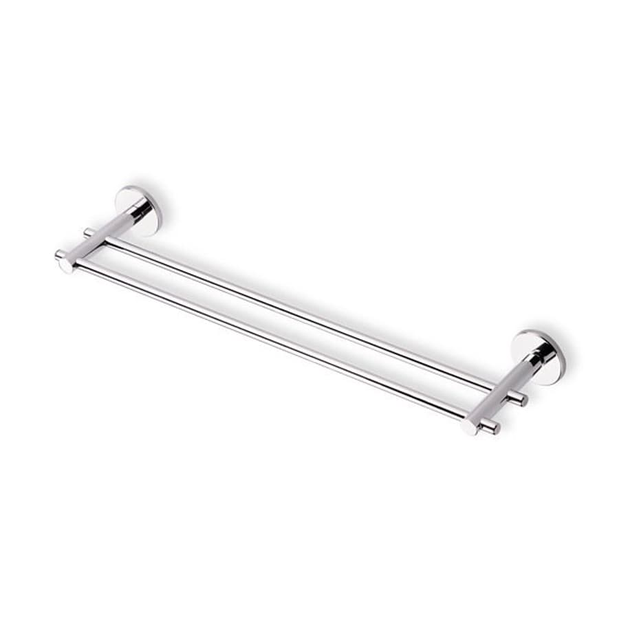 Nameeks Venus Chrome Double Towel Bar (Common: 18-in; Actual: 17.7-in)