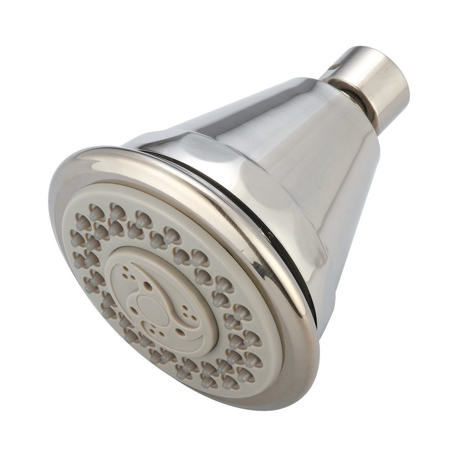 Pioneer Industries P-Accessory 2.5-GPM (9.5-LPM) Brushed Nickel 4-Spray Showerhead