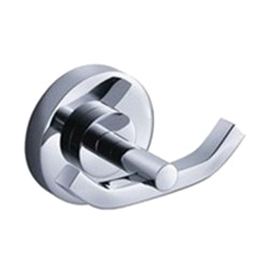 Fresca Alzato 2-Hook Chrome Towel Hook