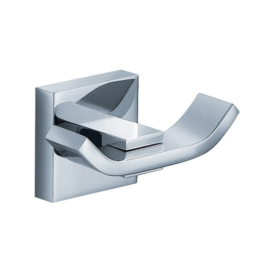 Fresca Glorioso 2-Hook Chrome Robe Hook