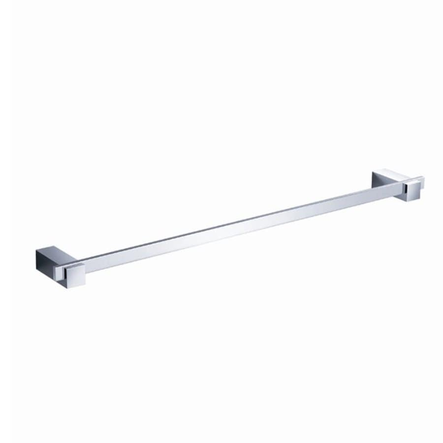 Fresca Ellite Triple Chrome Single Towel Bar (Common: 24-in; Actual: 23.5-in)