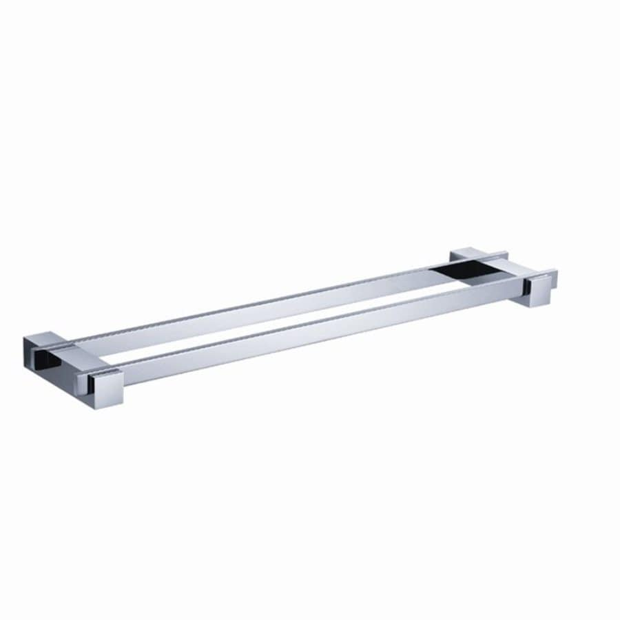Fresca Ellite Triple Chrome Double Towel Bar (Common: 20-in; Actual: 19.75-in)